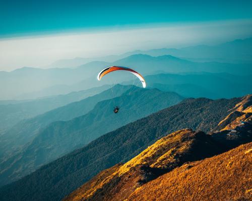 Paragliding flights in Gudauri